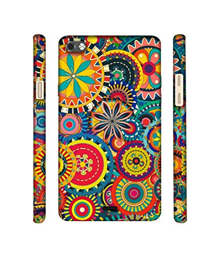 Casotec Ring Pattern Print Designer 3D Printed Hard Back Case Cover for Micromax Canvas Sliver 5 Q450