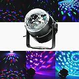 SOLMORE Mini 5W Disco RGB Stimme Aktiviert LED Lichteffekt Bühnenbeleuchtung
