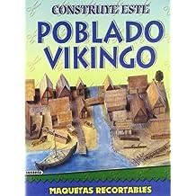Poblado Vikingo (Maquetas Recortables)
