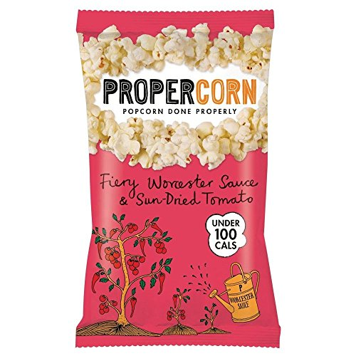 Propercorn Popcorn - Fiery Worcester Sauce & Sundried Tomato (20g)