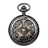 Best Relojes esqueleto - Reloj de Bolsillo para Hombre y Mujer, de Review
