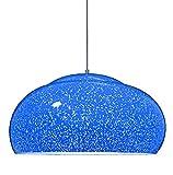 LAMPADARIO CROMOTERAPIA blu