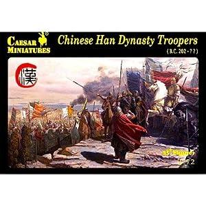 Unbekannt Caesar Miniatures h043-Figuras Chinese Han Dynasty Troopers