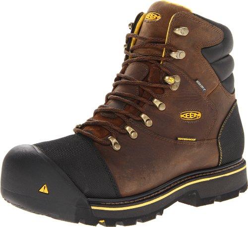 Keen Utility Men's Milwaukee WP Dark Earth Boot 8.5 EE - Wide