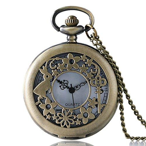 alice-nel-paese-delle-meraviglie-filigreed-coniglio-e-chiave-in-bronzo-spazzolato-custodia-vintage-d