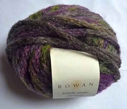 Rowan Yarns Kidsilk amore shimmer 37 m/50gr Fb.513 Mulled Wine kg =379 € (Amore Garn)