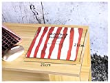 Schreibtischunterlage Handgelenkauflage-Streifen-Mausunterlage-Matten-Schreibtisch-Schreibens-Matte für Büro und Haus Mauspad