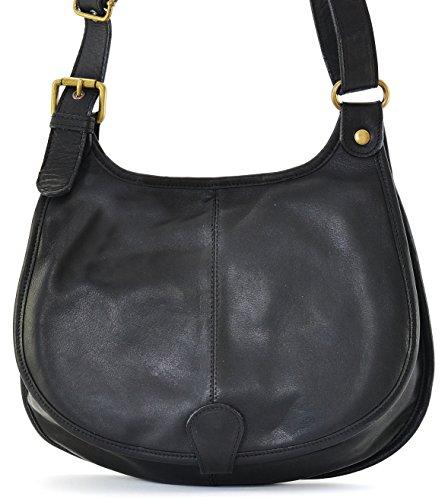 OH MY BAG Sac à main bandoulière porté de travers CUIR souple femme Modèle M - nouvelle collection 2018