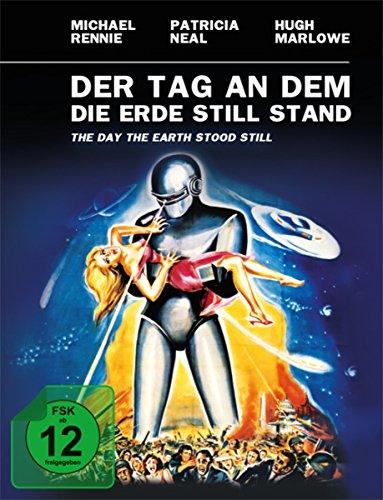 Der Tag, an dem die Erde stillstand - Limited Mediabook (+ Original Kinoplakat) [Blu-ray]
