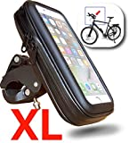 """WESTIC FT-18XL Lenkertasche wasserdicht Händyhalterung Fahrrad Motorrad Rahmentasche Halterung Schutzhülle bis 5,5"""" Display kompatibel für Smartphone Handy Navi GPS Apple iPhone Samsung Galaxy etc."""