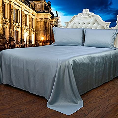 pura ropa de cama de seda/Gruesa inconsútil seda cama Mikasa-I 90x190cm(35x75inch)