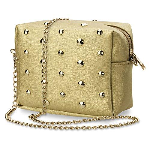 WiTa-Store, Poschette giorno donna, marrone (oro) - 4060131048919 marrone