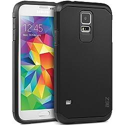 Coque Samsung Galaxy S5 / S5 NEO, Housse Etui Antichoc Survivor Double Protection pour Samsung Galaxy S5 / S5 NEO Resistante - Noir