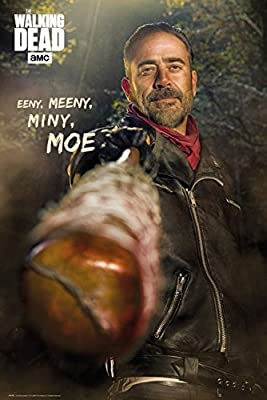 Posters: The Walking Dead Poster - Negan, Am, Stram, Gram (91 x 61 cm)