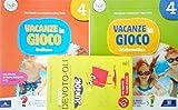 VACANZE IN GIOCO Italiano 4 + VACANZE IN GIOCO Matematica 4 + il Nuovo DEVOTO-OLI JUNIOR