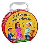 Die 70 besten Kinderlieder – Mein Hörbuch-Koffer (5 CDs): Lieder, ca. 154 Minuten