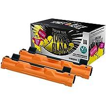 Yellow Yeti TN1050 (1000 páginas) 2x Tóner compatible para Brother HL-1110 HL-1112 DCP-1510 DCP-1512 DCP-1610W DCP-1612W HL-1210W HL-1212W MFC-1810 MFC-1910W [3 años de garantía]