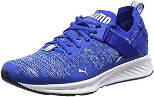 Puma Men's Ignite Evoknit Lo Lapis Blue-Blue Depths White Running Shoes-6 UK/India (39 EU)(4057828126029)