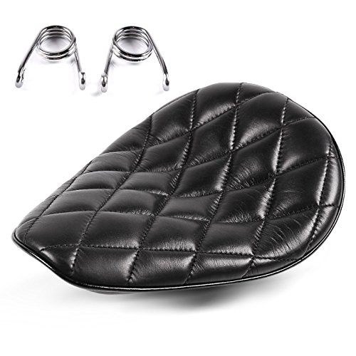 Solo Sitz für Harley Davidson Softail Breakout (FXSB) mit Federn Craftride Diamond schwarz