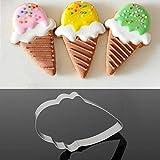 Edelstahl-Eis Form Keks Ausstecher Dekoration Werkzeug