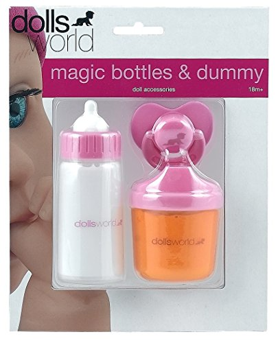 flaschen verschicken Speelgoed 8512 - Babypuppenzubehör - magische Babyflaschenset