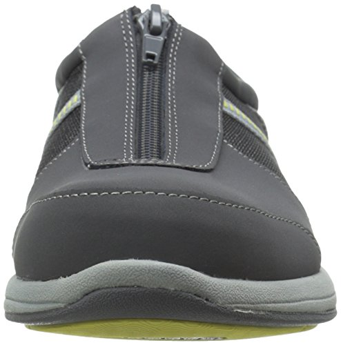 Easy Street Delilah Cuir Chaussure de Marche Grey