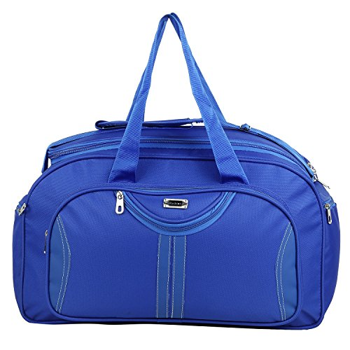 Travel Duffle Luggage Bag, Shoulder Bag, Weekender Bag Large By Jainsons (Blue)