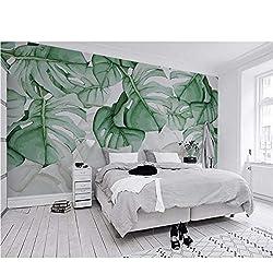 Zxfcccky Benutzerdefinierte Mural Tapete Handgemalte Schildkröte-Shell Zurück Tropische Pflanze Foto Wall Murals 3D Wandmalereien Verdicken Wandbild-350X250CM