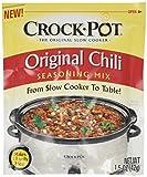 Crock Pot Mélange d'assaisonnement au chili pack de 3