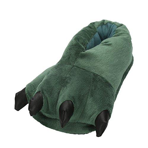 LATH.PIN Unisex Puschen Plüsch Hausschuhe Pantoffeln Kostüme Tierhausschuhe Geschenkidee