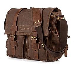 Generic - Bolso al hombro para hombre marrón