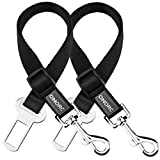 OMorc 2 Piece Dog Seat Belt, Dog Harness Pet Car Vehicle Seatbelt Pet