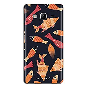 Mozine Fish Pattern printed mobile back cover for Samsung Z3