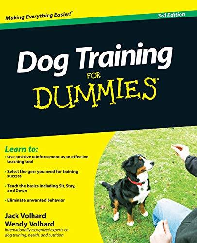 Dog Training For Dummies 3e (For Dummies Series)