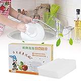 Tovagliolo da cucina bianco monouso in polistirolo espanso facile da pulire, lavare frutta e utensili da cucina (un pezzo di panno per la pulizia può pulire 10-20 stoviglie)