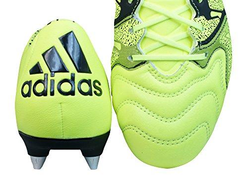adidas Performance - X15.1 Sg Leather, Scarpe da calcio Uomo solar yellow/solar yellow/core black