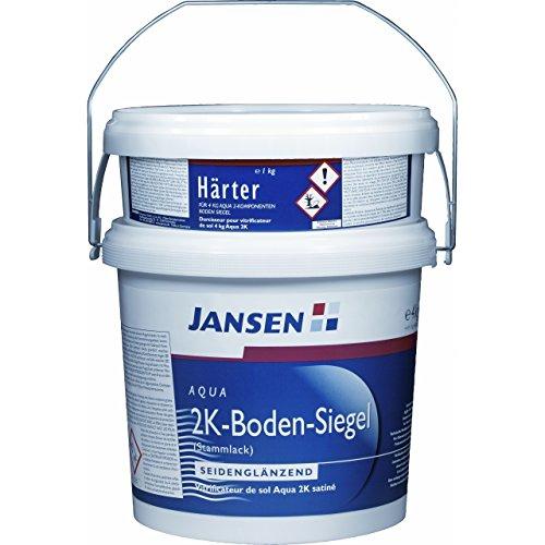JANSEN Ahrweipox 2K-Bodenbeschichtung 4+1Kg RAL 7032 kieselgrau