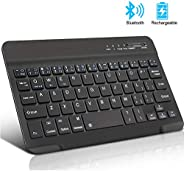 Mini Wireless Keyboard Bluetooth Keyboard For ipad Phone Tablet Rubber keycaps Rechargeable keyboard For Andro