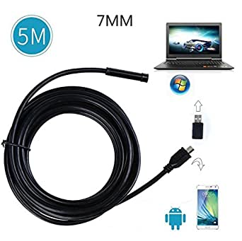 Golden seeds 7 mm 5m hd endoscope usb cam ra endoscopique - Camera endoscopique usb ...