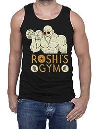 GIOVANI & RICCHI Herren Roshis Gym Tank Top Fitness Shirt in verschiedenen Farben