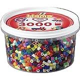 HAMA Beads Midi mix 68 (50 colores) 3000 piezas en bote