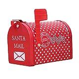 Weihnachten Mailbox Weißblech Pralinenschachtel Kreative Mailbox Candy Kleine Spielzeug Geschenk Aufbewahrungsbox
