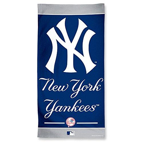 "Offizielles MLB ""New York Yankees"" Strandhandtuch, Badetuch in 150x75 cm"
