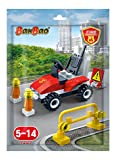 #4: Banbao  Building Blocks Foilpack Gilt Fire Fighter Car, Multi Color