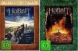 Der Hobbit: Teil 1+2 als Extended Edition * DVD Set (Eine unerwartete Reise + Smaugs Einöde)