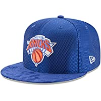New Era New York Knicks 9FIFTY OF NBA 2017 On-Court Snapback Cappello c91dba8ad530