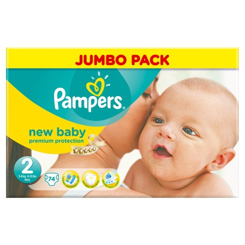 Pampers New Baby Nappies 51OUDW X8yL
