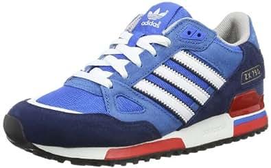 adidas Men's ZX750 Trainers Blue Blau (Bluebird/Running White Ftw/St Dark Slate F13) 38 2/3