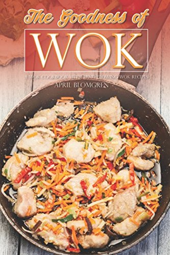 The Goodness of Wok: A Wok Cookbook with Mind Blowing Wok Recipes Winco Steel Spoon