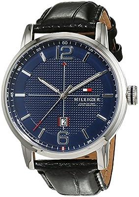 Tommy Hilfiger Casual Reloj De Pulsera de hombre, analógico de cuarzo y piel 1791216